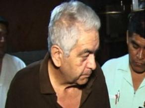 Manuel Fajardo internado en Hospital de PNP por cuadro de diabetes