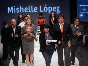 Perú Moda: Mishell López ganadora de ´Jóvenes Creadores del Mundo´
