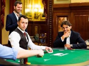 Rafael Nadal enfrentó a la jugadora número uno de póker en el mundo