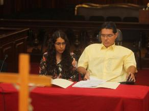 Esposa de Michael Urtecho no irá a prisión preventiva