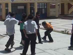 Instalarán mesa de trabajo contra la violencia escolar en Chiclayo