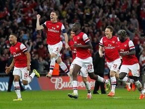 Arsenal vence en penales al Wigan y llega a la final de la Copa FA