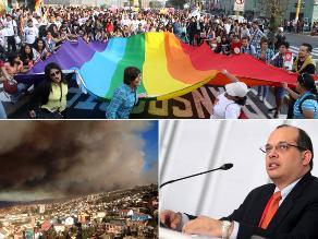 El resumen: Miles participaron en la ´Marcha por la igualdad´, Castilla asegura que el Gobierno no se rige por un ´piloto automático´e incendio consume viviendas en Valparaíso