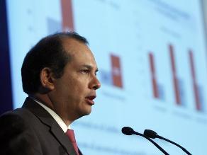 Castilla: El Perú crecerá entre 5,5% y 6,0% el 2014