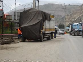 La Oroya: choque frontal se registra en la Carretera Central