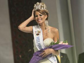 Jimena Espinoza se corona como la Miss Perú Universo 2014