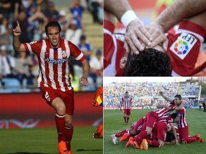 En imágenes: Así ganó Atlético de Madrid a Getafe en la liga española