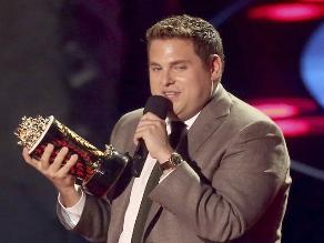 MTV Movie Awards: Jonah Hill es el ´Mejor Comediante´