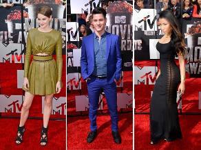 Lo mejor de la Alfombra Roja de los MTV Movie Awards