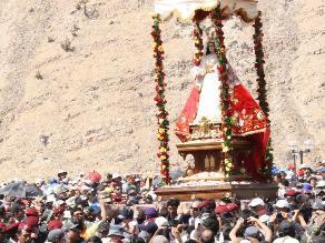 Arequipa: 200 mil peregrinos se esperan por festividad de virgen de 'Chapi'