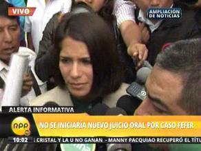 Trabajadores del PJ impiden ingreso de Eva Bracamonte para audiencia