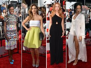 Las mejor vestidas de los MTV Movie Awards 2014