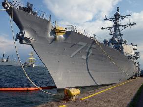 Tensión con Rusia: Destructor Donald Cook de EEUU llega al Mar Negro