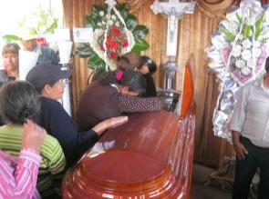 Lambayeque: velan restos de PNP que frustró asalto de cajero en Pimentel