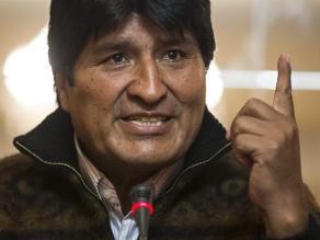 Morales muestra confianza en la CIJ y dice salida al mar es irrenunciable