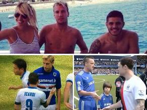 Conoce los triángulos amorosos que remecieron el mundo del fútbol