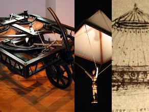 Los 10 inventos y diseños de Leonardo Da Vinci