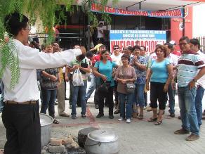 Chiclayo: judiciales reducen reclamos por indiferencia del gobierno
