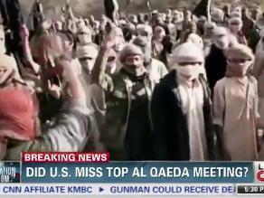 CNN emite vídeo de una supuesta gran reunión de Al Qaeda en Yemen