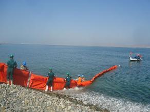 Realizan simulacro de control de derrame de hidrocarburos en Paracas