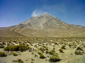 Recomendaciones ante incremento de actividad volcánica del Ubinas
