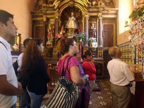 Limeños recorrerán siete iglesias en celebración del Jueves Santo