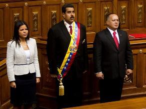 Nicolás Maduro cumple su primer aniversario en medio de protestas