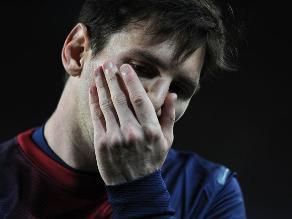 Di María: Messi está bien, tranquilo y no veo desgastado al Barcelona