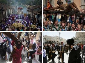 Así celebró el mundo el Jueves Santo
