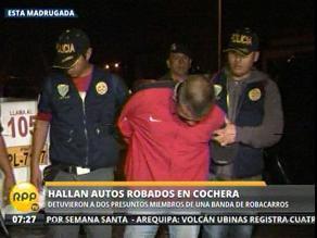 Capturan delincuentes cuando robaban autopartes en San Juan de Miraflores