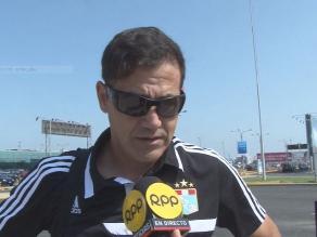 Daniel Ahmed: Ganar nos mantendría en competencia por el Torneo del Inca