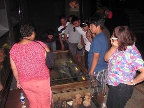 Museos lambayecanos abarrotados de turistas por Semana Santa