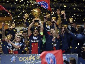 Paris Saint Germain se consagró campeón de Copa de la Liga francesa