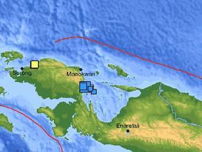 Un terremoto de 6,6 grados sacude el noreste de Papúa Nueva Guinea