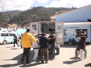 Arequipa: 12 pasajeros heridos deja vuelco de bus interprovincial