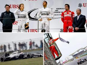 Así fue el triunfo de Lewis Hamilton en el GP de China de la Fórmula 1