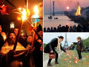 Día de Pascua fue celebrado por diversos países del mundo