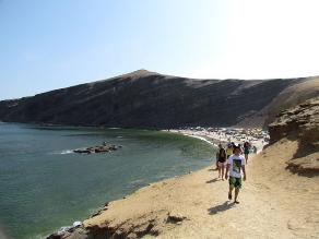 Pisco: diez mil turistas visitaron reserva de Paracas por Semana Santa