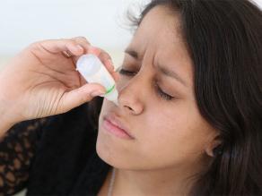 Recomiendan no abusar de los descongestionantes nasales