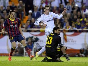 Copa del Rey: Marc Bartra dice por qué no alcanzó a Gareth Bale