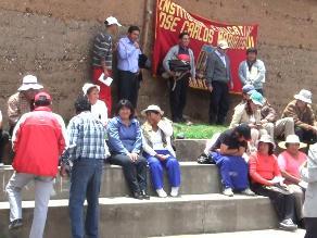 Huánuco: paro del Sutep no tuvo convocatoria esperada