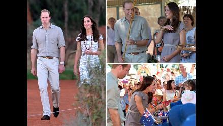 Duques de Cambridge recorrieron importantes parques en Australia