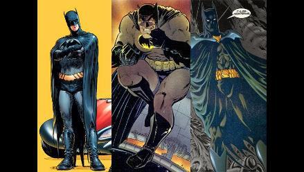 Batman cumple 75 años, mira sus cambios a lo largo de la historia
