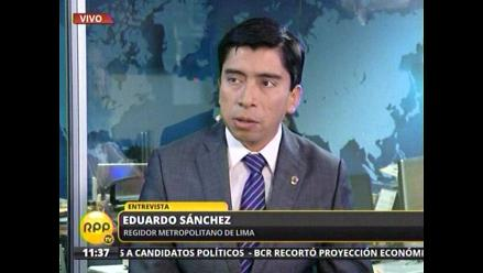 Gestión de Villarán no implementa 144 cámaras de vigilancia, según regidor
