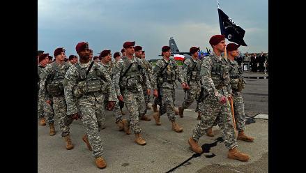 Militares de EEUU llegan a Polonia en plena crisis de Ucrania