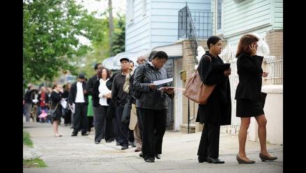 Solicitudes de subsidios por desempleo en EEUU crecen