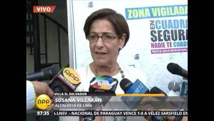 Villarán plantea que Policía de Tránsito pase a las provincias