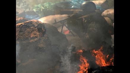Crisis en Ucrania: Cinco muertos en ofensiva de Kiev en Slaviansk