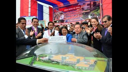 Junín: inician construcción de hospital de enfermedades neoplásicas