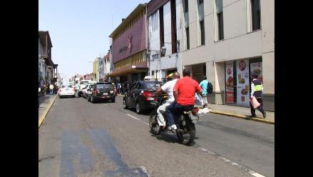 Una motocicleta es el vehículo con más papeletas en Trujillo